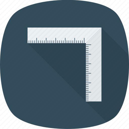 measure, measurements, ruler, scale icon icon