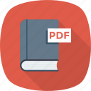 book, ebook, pdf, preview icon icon