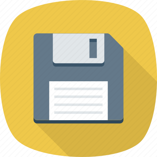 backup, disk, floppy, save icon icon