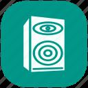media, multimedia, music, musical, musical nots, speaker, volume icon