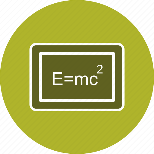 book, education, formula, learning, physics, science, study icon