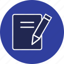 document, notes, office icon