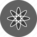 atom, experiment, molecule icon