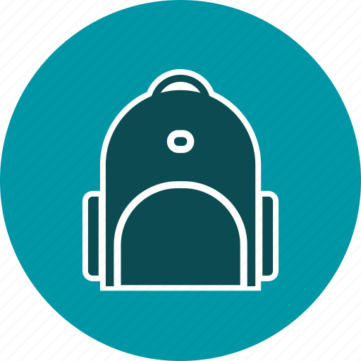 bag, college, education, school, student icon