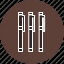 edit, markers, pen, pointer, write icon