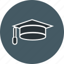 cap, degree, diploma icon