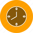 alarm, bell, clock icon