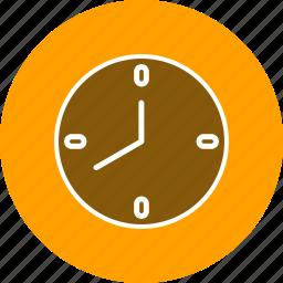 alarm, bell, clock icon