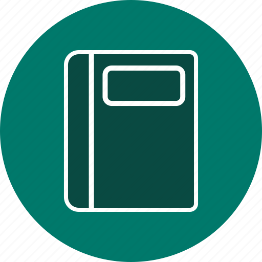 copybook, file, notebook icon