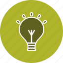 bulb, energy, idea, light, lightbulb icon