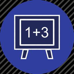 accounting, calculation, digital icon