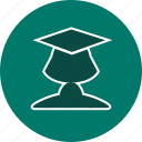 female student, student, study icon