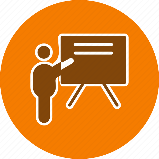 board, presentation, teaching icon