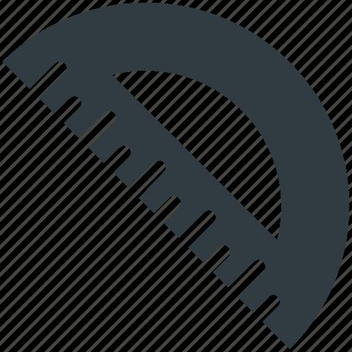 angle tool, degree tool, geometry, mathematics, protractor icon