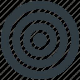 archery, bullseye, dart, dartboard, optimization icon