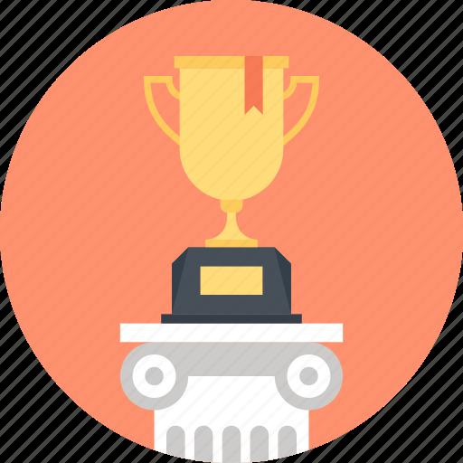achievement, cup, prize, reward, success, trophy, win icon