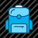 bag, school, school bag, student