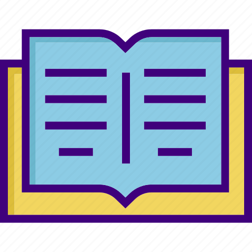 book, education, knowledge, learning, notebook, reading, study icon