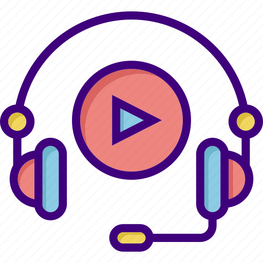 audio, course, e learning, listen, media, music, play icon