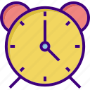 alarm, alert, bell, clock, schedule, stopwatch, time icon