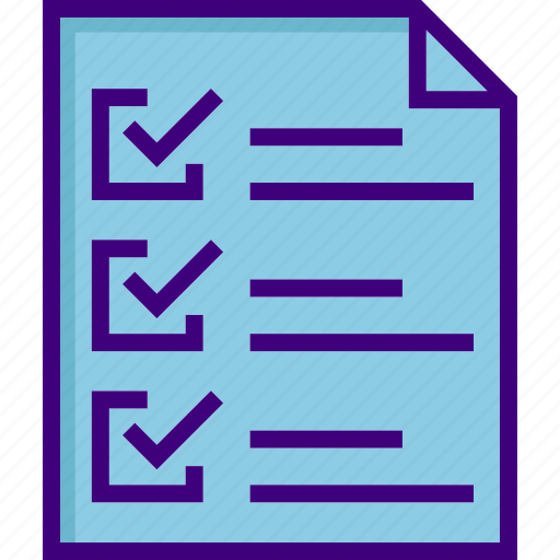 business, chart, checklist, list, note, notepad, paper icon