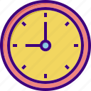 clock, optimization, time, time optimization, timer, wall clock, watch icon