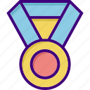 award, badge, medal, prize, win, winner, winning icon