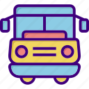 bus, school bus, transport, transportation, travel, van, vehicle icon