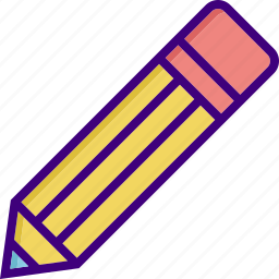 draw, edit, education, pen, pencil, school supplies, write icon