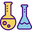 chemistry, chemistry laboratory, experiment, lab, laboratory, research, science icon