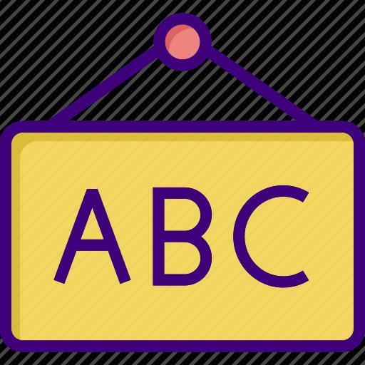 abc, board, graph, presentation, report, sign, study icon