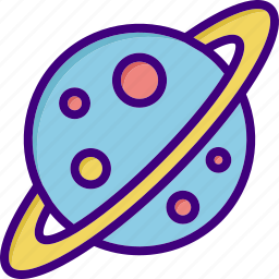 astronomy, globe, planet, planets, science, space, universe icon