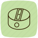 configuration, repair, scissors, settings, sharp, sharpener, tools icon