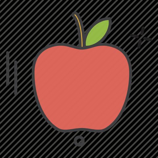 apple, learning, school, student, teaching, university icon