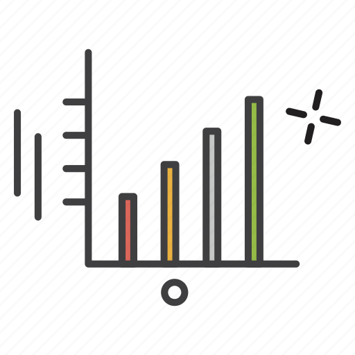 chart, education, graph, student, study icon