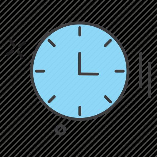 clock, education, learning, school, study icon