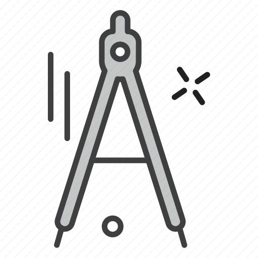 Compass, school, teaching, university icon - Download on Iconfinder