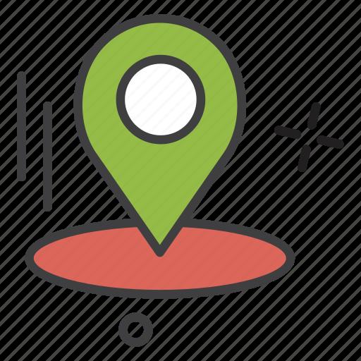 learning, location, navigation, school, study, university icon