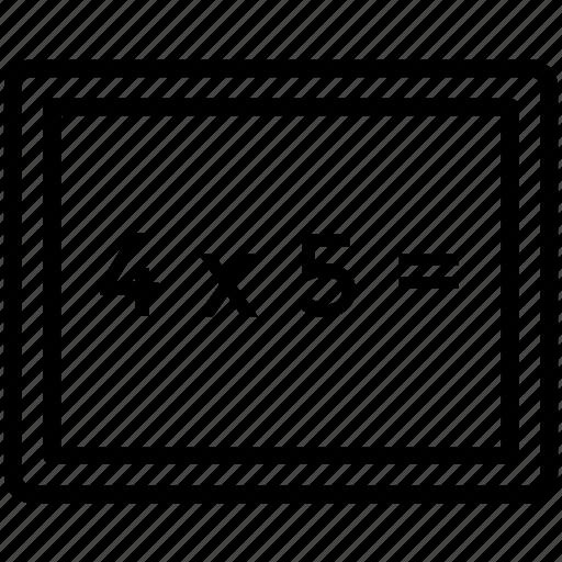 black board, board, plank, school board icon icon