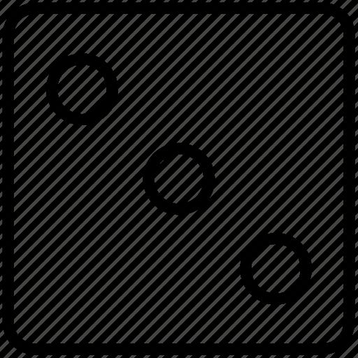 casino, dice, game icon icon