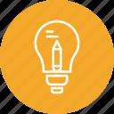 bulb, creative, idea, light