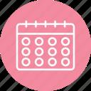 calendar, schedule, date