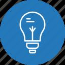 bulb, light, light bulb, idea