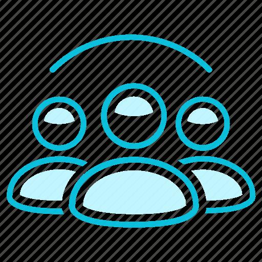 community, poeple, users icon