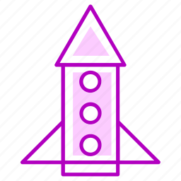 launch, rocket, start up icon
