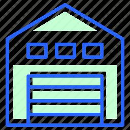 storage, store, warehouse icon
