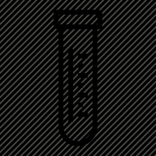 chemical, cylinder test tube, test tube, testing, tube icon