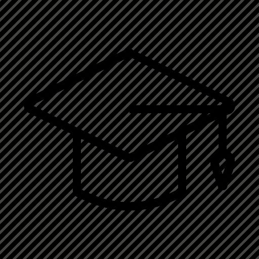 academic hat, education, graduation, graduation hat, hat, higher education icon