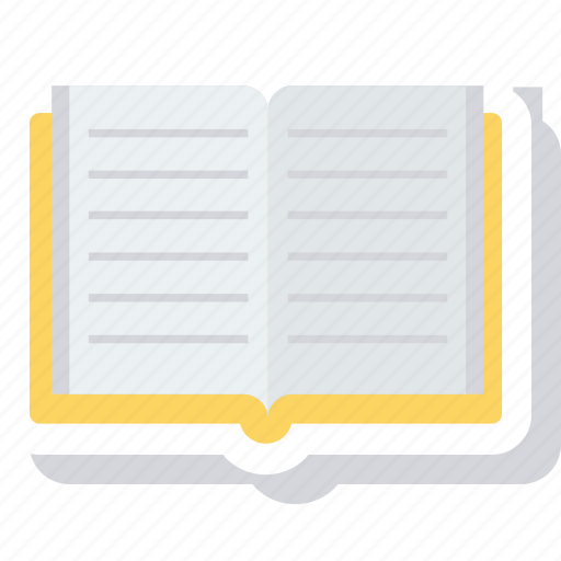book, bookmark, education, library, open book, read, study icon icon