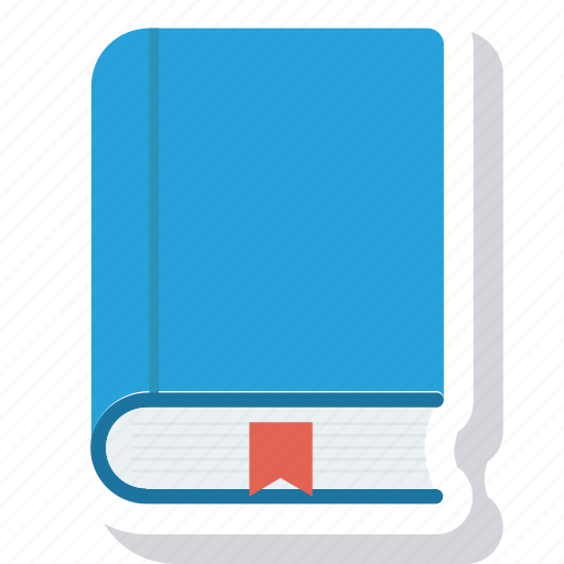 book, bookmark, education icon icon